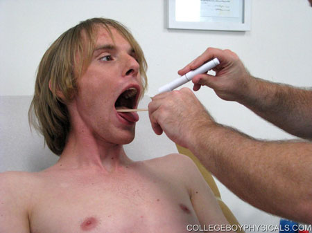 Gay Doctor : college Boy Physicals – Corey!