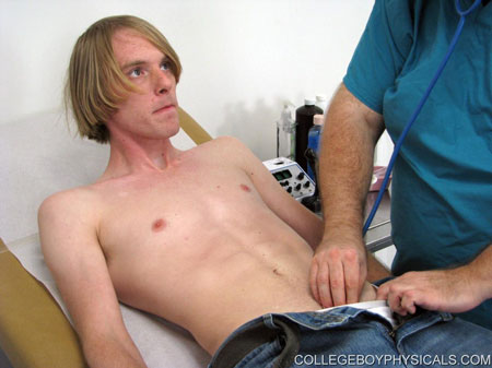 Gay Doctor : school Boy Physicals – Corey!