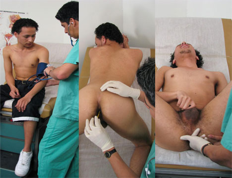 Gay Doctor : school Boys Physicals – Ramon!