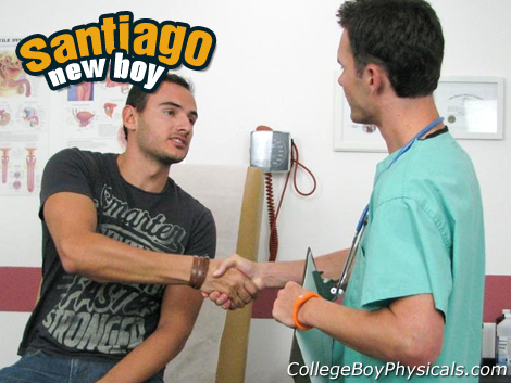 Gay Doctor : university Boy Physicals – Santiago!