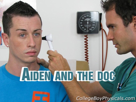 Gay Doctor : high school Boy Physicals – Aiden!