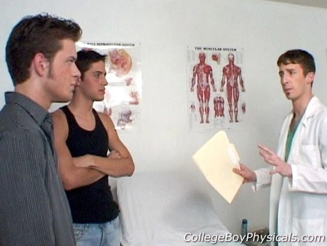 Gay Doctor : high school Boy Physicals – Mario & Maverick!